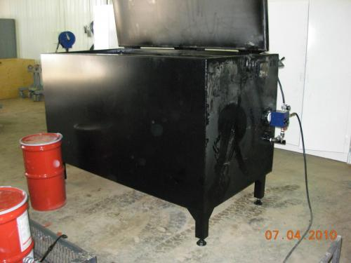 Caustic hot tank 006